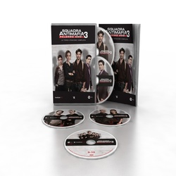 Squadra Antimafia - Squadra Antimafia - stag. 3 (5 DVD + booklet)