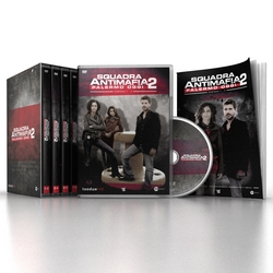 Squadra Antimafia - Squadra Antimafia - stag. 2 (4 DVD + booklet)
