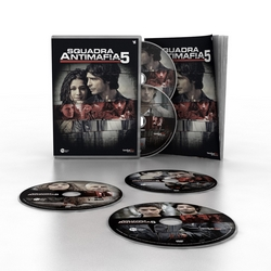 Squadra Antimafia - stag. 5 (5 DVD + booklet)