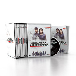 Squadra Antimafia - SQUADRA ANTIMAFIA 8 (COFANETTO 4 DVD + BOOKLET)