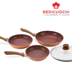 Redicuochi - Set padelle Copper Stone