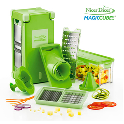 Mediashopping - Set Affettatutto Nicer Dicer Magic Cube
