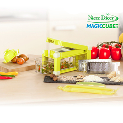 Set Affettatutto Nicer Dicer Magic Cube GOURMET