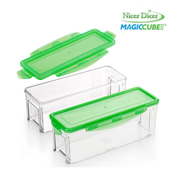 Redicuochi - Set  2 contenitori + 2 coperchi per Nicer Dicer Magic Cube