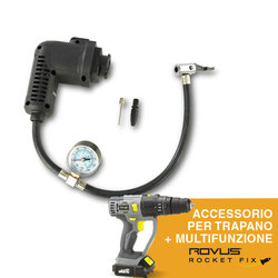 Mediashopping - Compressore d'aria per Rovus Rocket Fix
