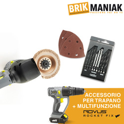 Brikmaniak - Kit accessori Rovus Rocket Fix
