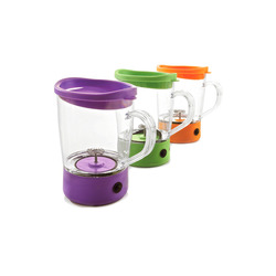 Mediashopping - Mixer per cappuccino con frustina in metallo, colori assortiti