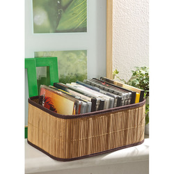 Mediashopping - Porta dvd in bamboo