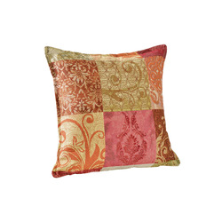 Mediashopping - Copricuscino jacquard in gobelin