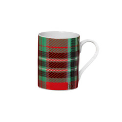 Mediashopping - Tazza in porcellana tartan
