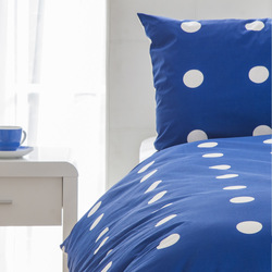 Mediashopping - Set letto reversibile a pois, singolo