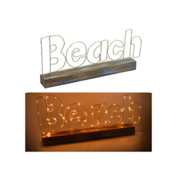 Mediashopping - Decorazione Beach Led