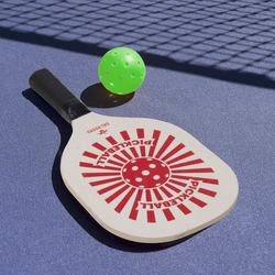 Set 2 racchette con 2 palline da pickleball