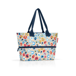 Mediashopping - Borsa voluminosa fiori