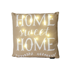 Mediashopping - Cuscino LED Home Sweet Home
