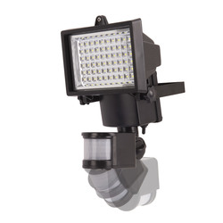 Mediashopping - Faretto solare 60 led ultra brillanti con pir