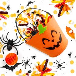 Mediashopping - Cestino in feltro halloween