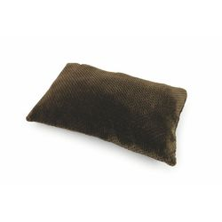 Mediashopping - Cuscino fleece 60x38cm 400gr marrone