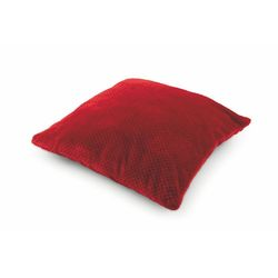 Mediashopping - Cuscino fleece 60x60cm 800gr bordeaux