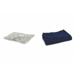 Mediashopping - Set mattonella borsa acqua calda+plaid 150x125cm