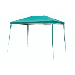 Mediashopping - Gazebo metallo 3x3 verde