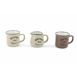 Mediashopping - Set 2 mug+lattiera bistrot