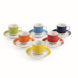 Mediashopping - Colors set 6 tazzine caffe'c/p