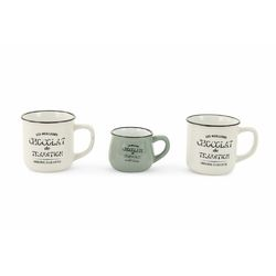 Mediashopping - Set 2 mug+lattiera chocolat