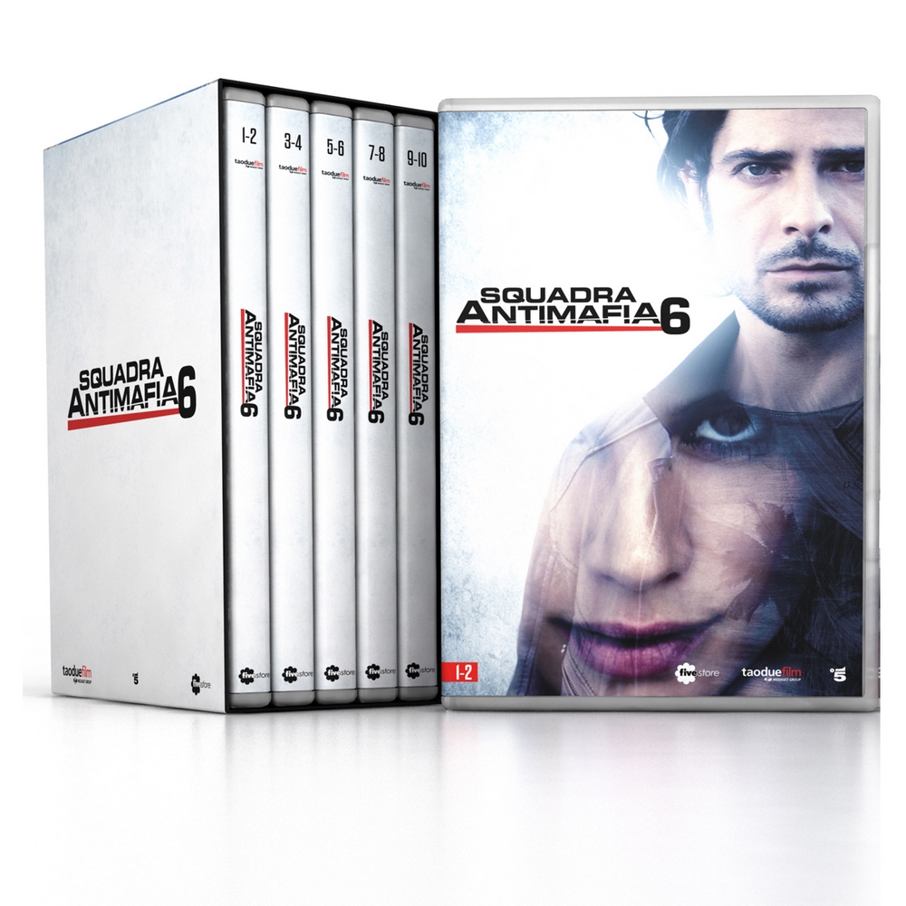 Squadra Antimafia - stag. 6 (5 DVD + booklet)