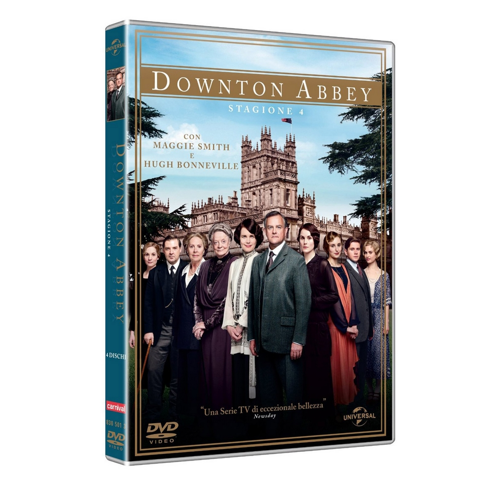 Downton Abbey - stag. 4 (4DVD)