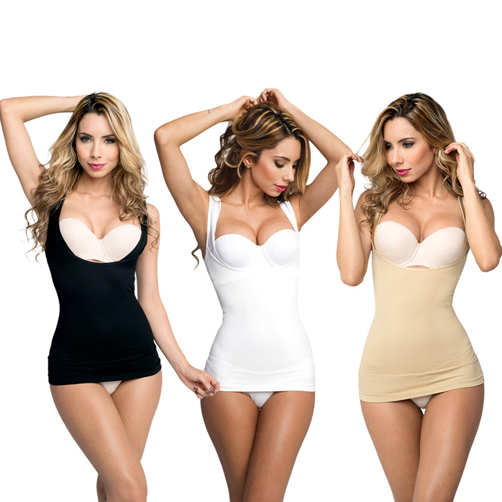 3 Top modellanti T-SLIM taglia 2XL-3XL