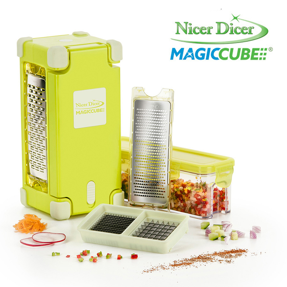 set affettatutto nicer dicer magic cube gourmet mediashopping. Black Bedroom Furniture Sets. Home Design Ideas