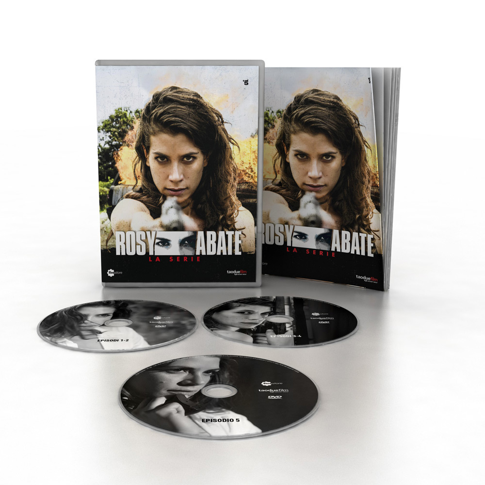 Rosy Abate - Cofanetto 3 DVD + Booklet