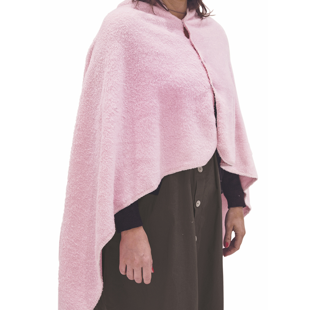 Poncho Coral Fleece