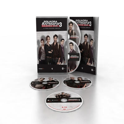 Squadra Antimafia - stag. 3 (5 DVD + booklet)