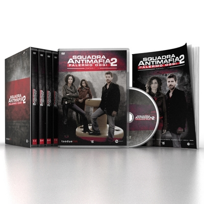 Squadra Antimafia - stag. 2 (4 DVD + booklet)