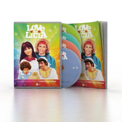 Love me Licia (4DVD + booklet)